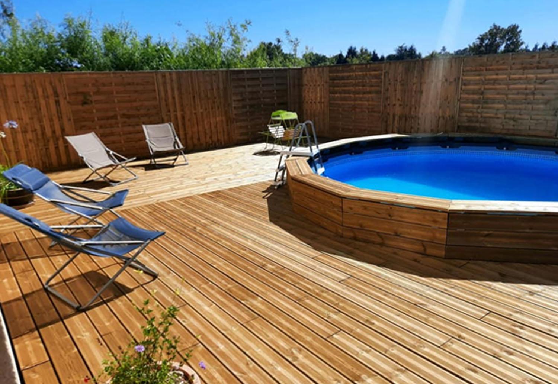 piscine chambre d'hotes les gabriollereis coutances courcy manche normandie